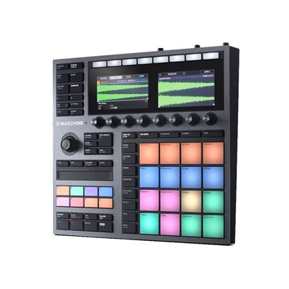 Native Instruments Maschine Plus Standalone Production & Performance Instrument - Angle