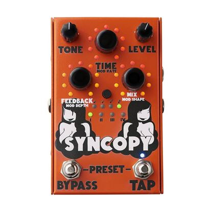 Stone Deaf Syncopy Analogue Delay Effects Pedal
