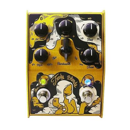 Stone Deaf Trashy Blonde Distortion Effects Pedal - Front