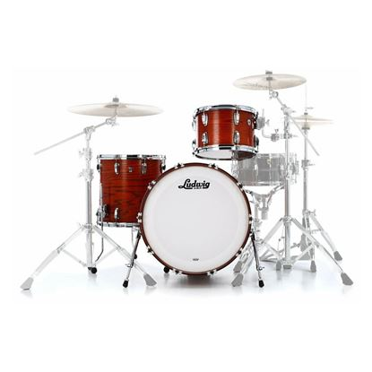 Ludwig Classic Oak Fab 3-Piece Drum Kit with 22in Bass Drum in Tennessee Whiskey