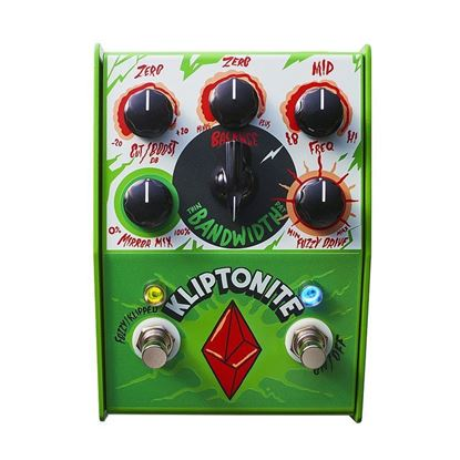 Stone Deaf Kliptonite Dual Overdrive and Fuzz Effects Pedal - Front