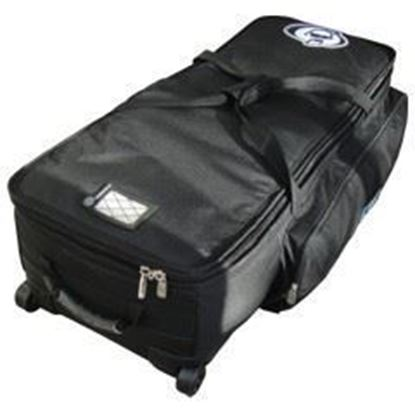 """Protection Racket PR5047W09 Hardware Bag with Wheels - 47"""" x 14"""" x 10"""" - Top"""