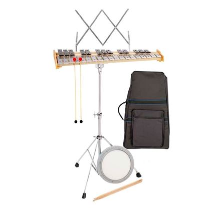 Mitello ED561 Chromatic 32-Note Glockenspiel Package with Gig Bag