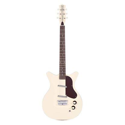 DanElectro 59 Series Divine Electric Guitar in Fresh Cream - Front