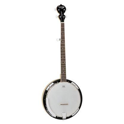 Tanglewood TWB18 5-String Tenor Banjo - Front