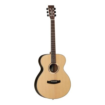 Tanglewood TDBTFEBLH Discovery Exotic Left Hand Folk Acoustic Guitar in Ebony