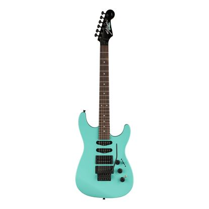 Fender Limited Edition HM Strat Electric Guitar with Maple Fingerboard in Ice Blue - Front