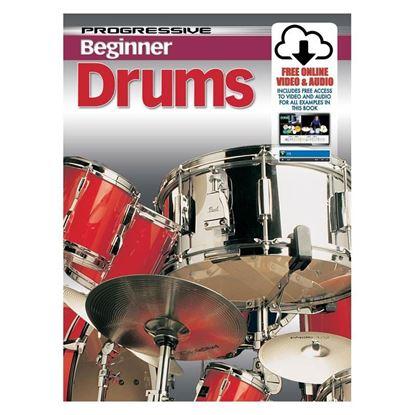 Progressive KPPBDX Beginner Drums Book & Online Media - 69165