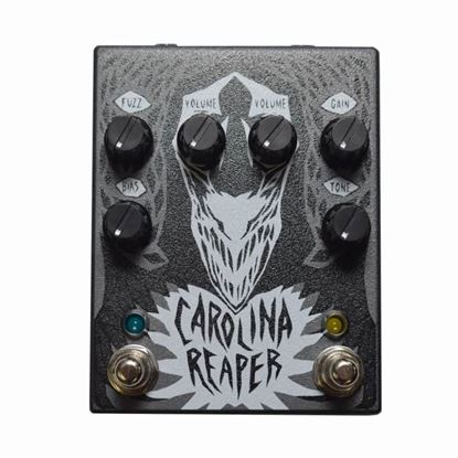 Cusack Music Carolina Reaper Overdrive/ Fuzz Effects Pedal (USA Made)