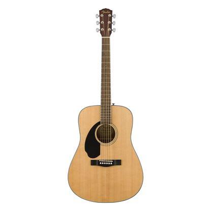 Fender CD-60S Left-Handed Acoustic Guitar with Walnut Fingerboard in Natural