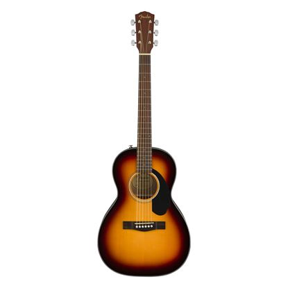 Fender CP-60S Parlor Acoustic Guitar with Walnut Fingerboard in Sunburst - Front