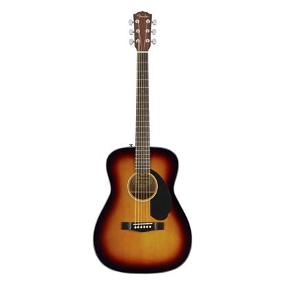 Fender CC-60S Concert Acoustic Guitar with Walnut Fingerboard in 3-Color Sunburst