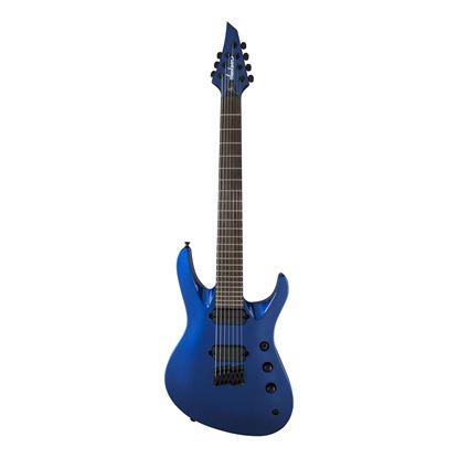 Jackson HT7 Pro Series Signature Chris Broderick Soloist Electric Guitar with Laurel Fingerboard in Metallic Blue