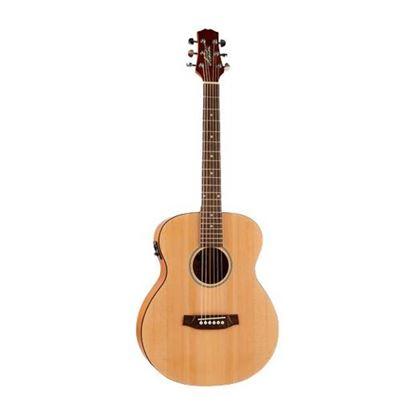 Ashton JJR20EQNTM Junior Jumbo Acoustic Guitar with Pickup - Natural Matte