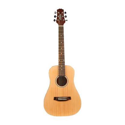 Ashton Joeycoustic Mini20 Acoustic Guitar - Natural Matte - Front
