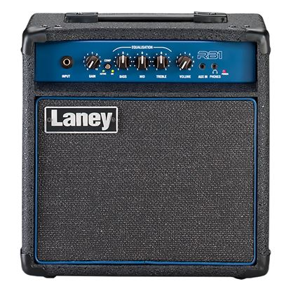 Laney RB1 Richter Bass Combo Amplifier with 8in Speaker in Black (15w)