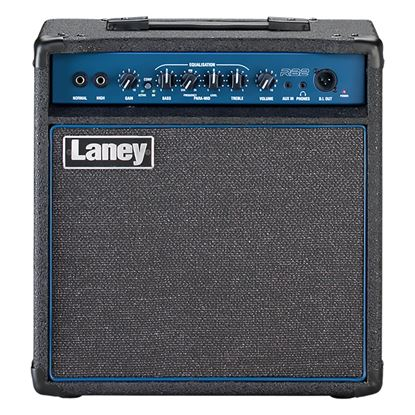 Laney RB2 Richter Bass Combo Amplifier with 10in Speaker in Black (30w) - Front