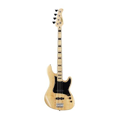 Cort GB54JJ 4-String Bass Guitar in Gloss Natural - Front