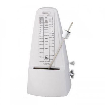 Cherub WSM330 Pyramid Style Metronome - White