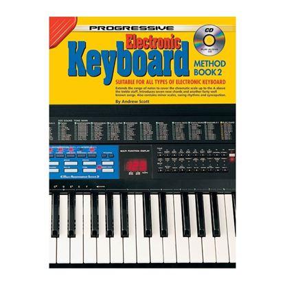 Progressive KPEK2CP Electronic Keyboard Method Book 2 & CD/DVD - 72638