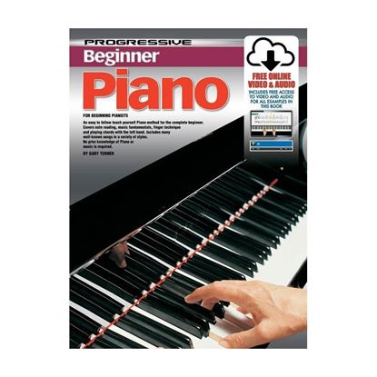 Progressive KPPBPX Beginner Piano Book & Online Media - 69167