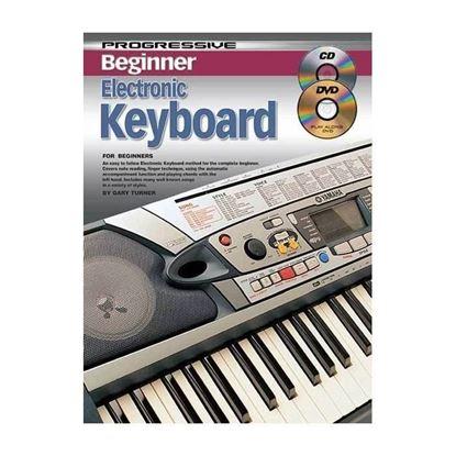 Progressive KPPBKE Beginner Keyboard Book & CD/DVD - 11813