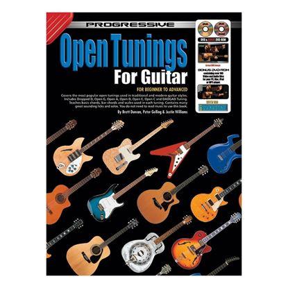 Progressive KPGT Open Tunings For Guitar Book & CD/DVD - 11812