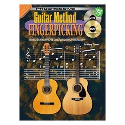 Progressive KPGMFX Guitar Method Fingerpicking Book & Online Media - 69071