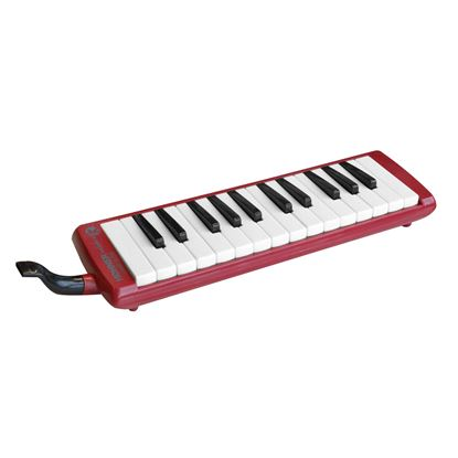 Hohner Kids 26-Key Melodica in Red with Black & White Keys and Hardcase