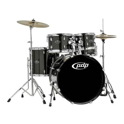 PDP Centerstage Series 5-Piece Drum Kit with 22in Bass Drum in Black Onyx