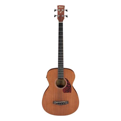 Ibanez PCBE12MH OPN Acoustic Bass with Pickup - Open Pore Natural