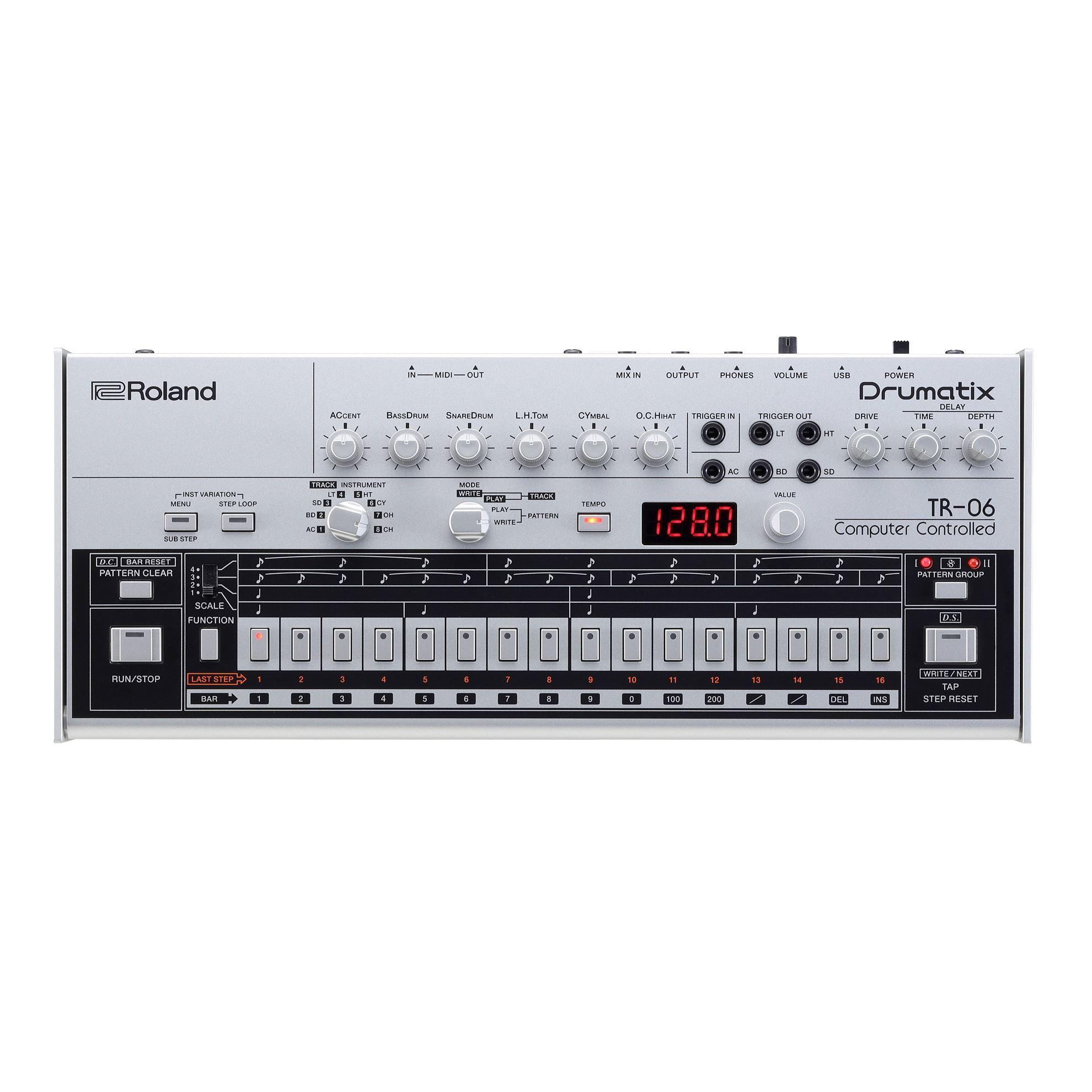 Roland TR-06 Drumatix Module - Front