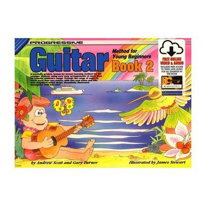 Progressive KPYG2X Guitar Method Book 2 for Young Beginners & Online Media Link - 18323