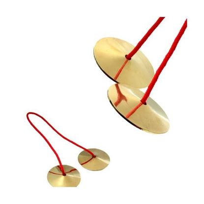 UFIP PEFCYMP Pair of Brass Finger Cymbals