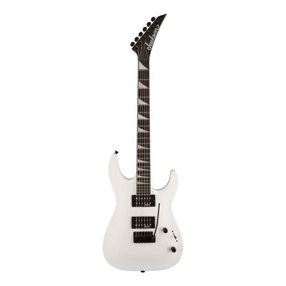Jackson JS Series Dinky Arch Top Electric Guitar with Amaranth Fingerboard in Snow White - Front