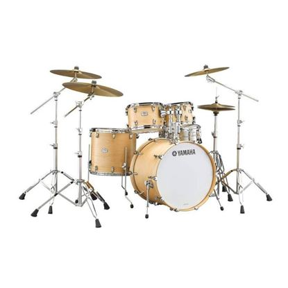 Yamaha TC22 Tour Custom Euro 5pc Drum Kit with 22in Bass Drum in Butterscotch Satin
