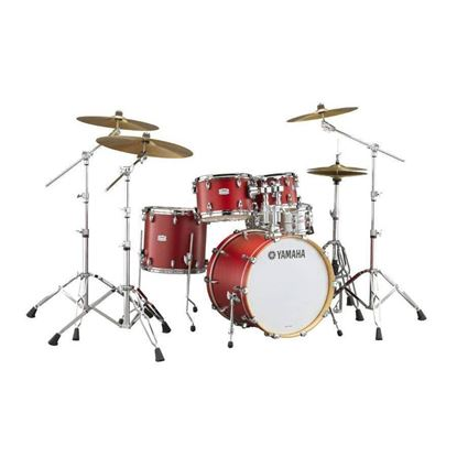 Yamaha TC22 Tour Custom Euro 5pc Drum Kit with 22in Bass Drum in Candy Apple Satin