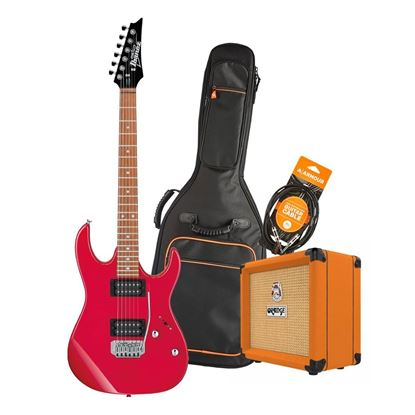 Ibanez RX22 Electric Guitar Starter Pack in Red with Orange Crush 12 Amp, Armour Bag & GS10 Lead